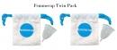 Cupa menstruala reutilizabila - marime unica Twin Pack