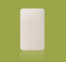 Burete de baie pentru copii Konjac 100% Pure (alb)