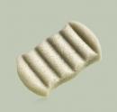 Burete pentru baie 6 valuri Konjac Green Clay (verde) - ten gras si combinat