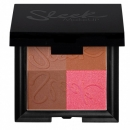 Blush in 4 nuante Bronze Block - Dark