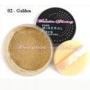 Pudra cu minerale - 02 Golden