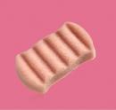 Burete pentru baie 6 valuri Konjac French Pink Clay (roz) - ten sensibil si deshidratat