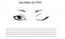 Eye chart - pentru ochi
